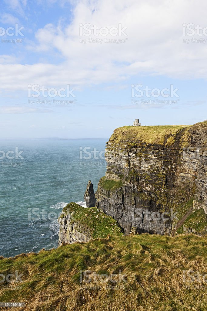 The Cliffs of moher,  Burren in County Clare, Ireland. royalty-free stock photo