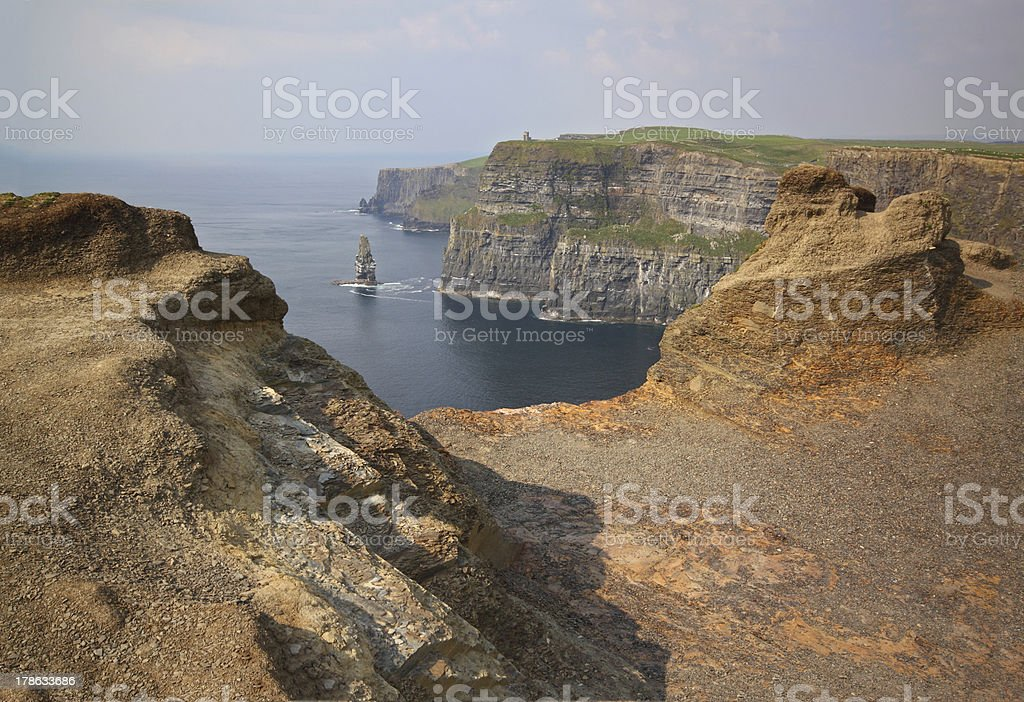 The Cliffs of Moher, Ireland royalty-free stock photo
