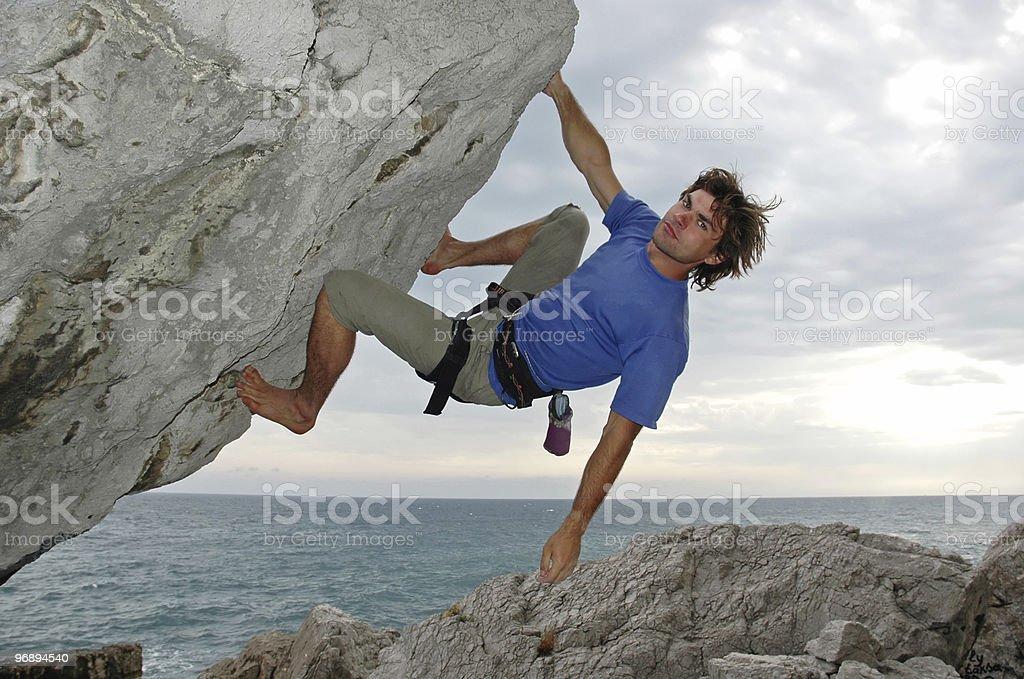 The climb #3 royalty-free stock photo