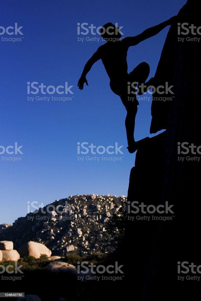 The Climber 2 royalty-free stock photo
