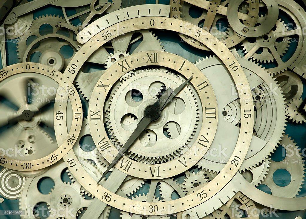 The clock stock photo