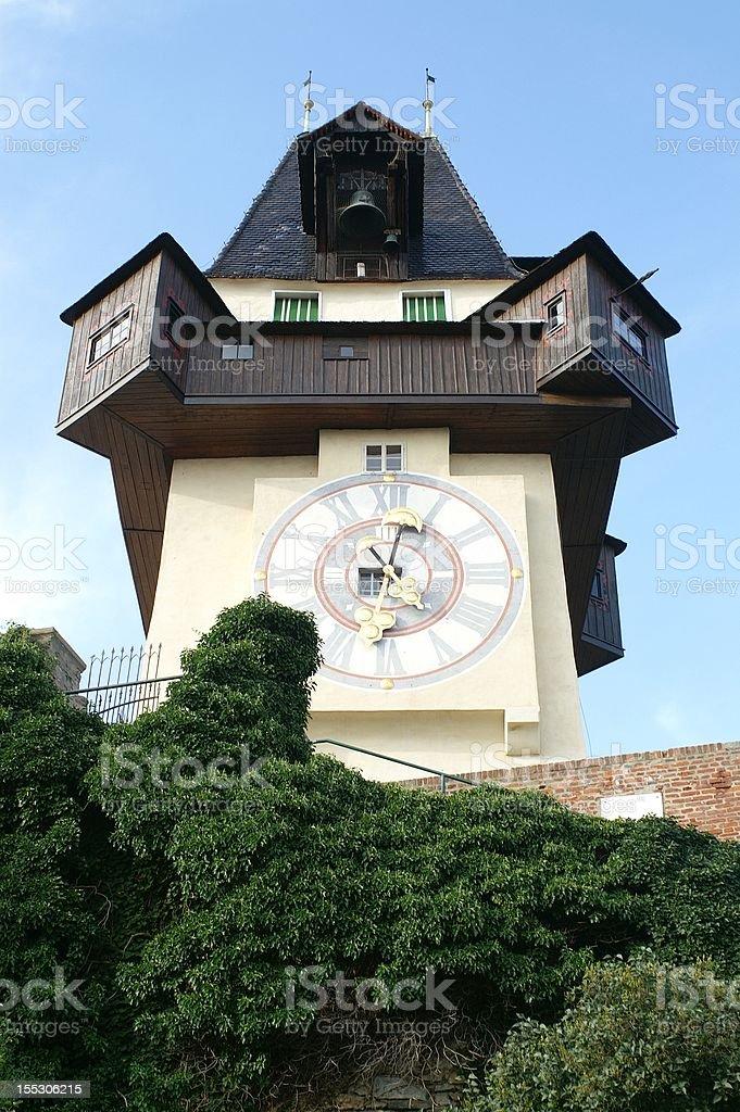 The Clock Tower / der Uhrturm royalty-free stock photo