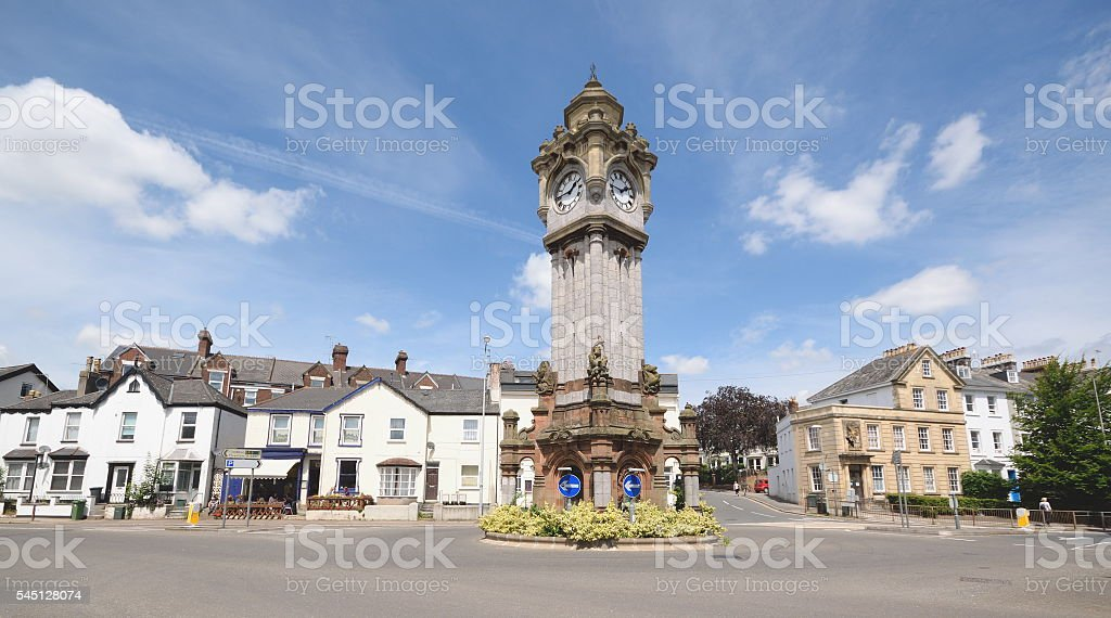 The Clock Tower stock photo