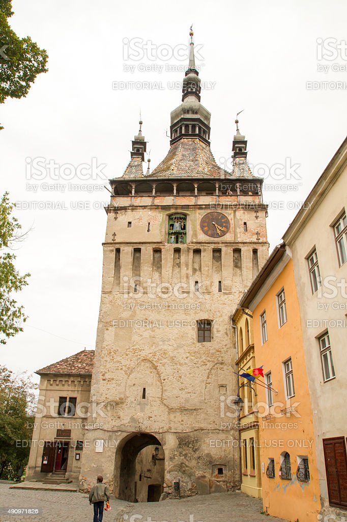 The Clock Tower, Sighisoara royalty-free stock photo