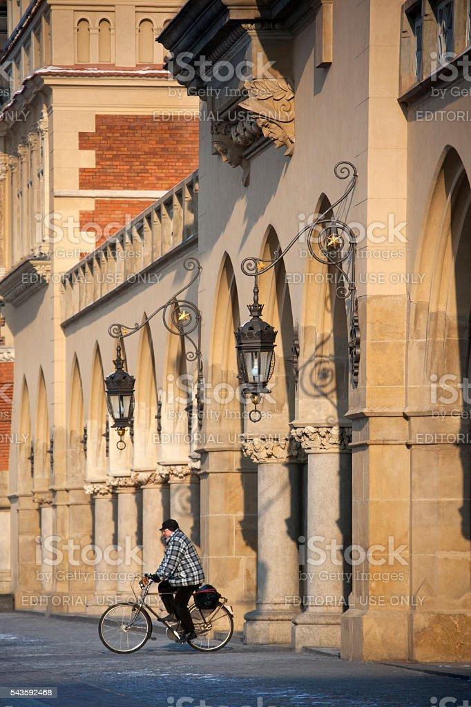 The Cloth Hall in Krakow - Poland stock photo