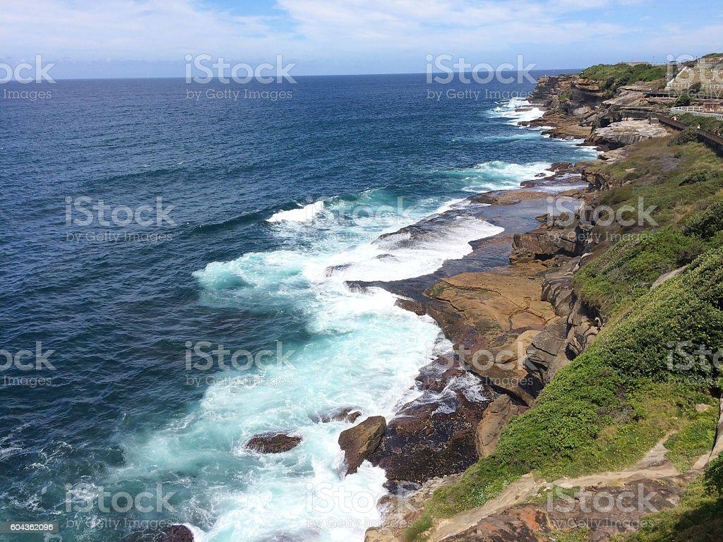 The Coastal Walk stock photo