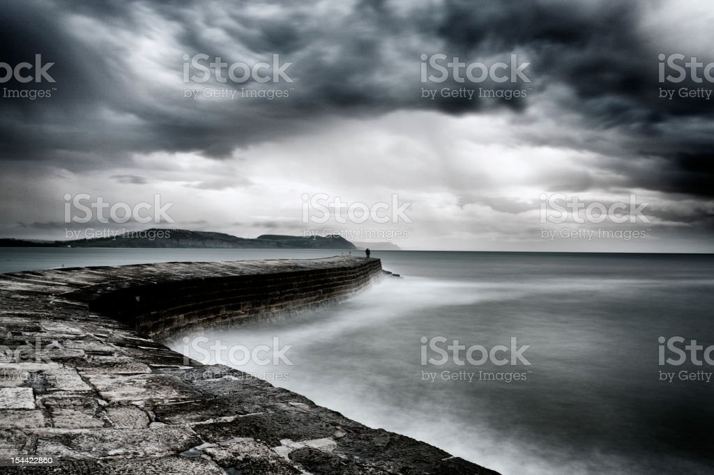 The Cobb, motion blur stock photo
