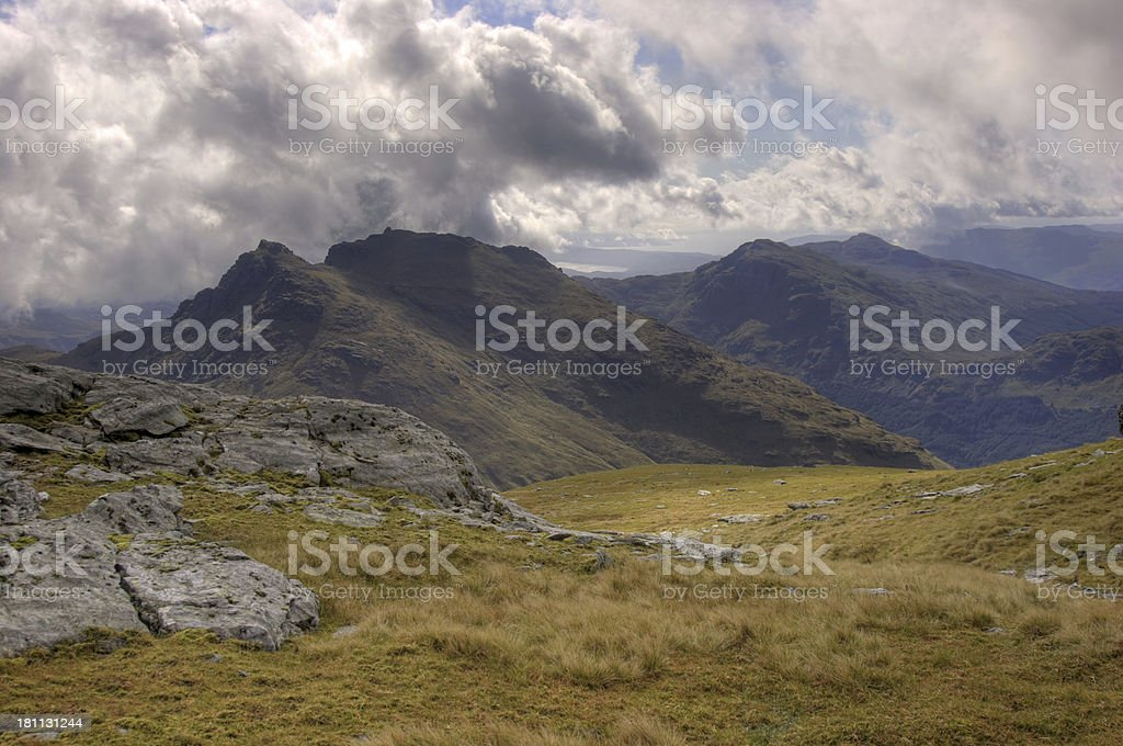 The Cobbler From Ben Ime royalty-free stock photo