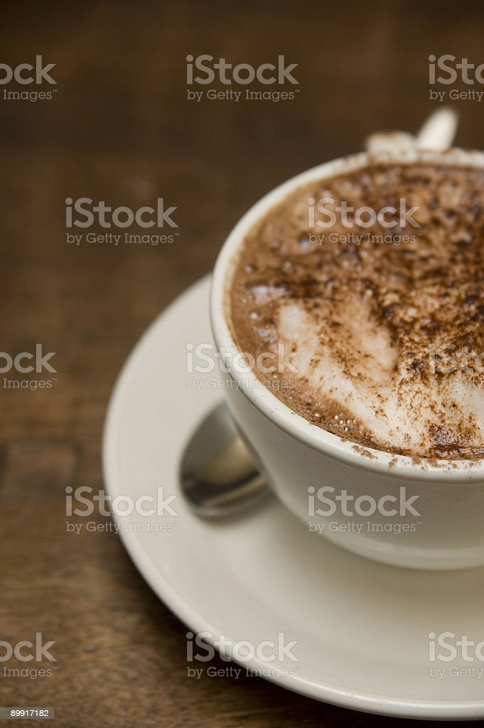 The Coffee Cup royalty-free stock photo
