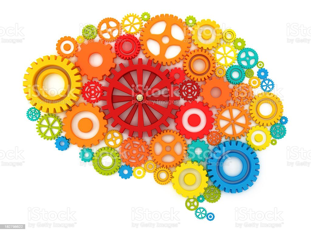 The cognitive mind stock photo