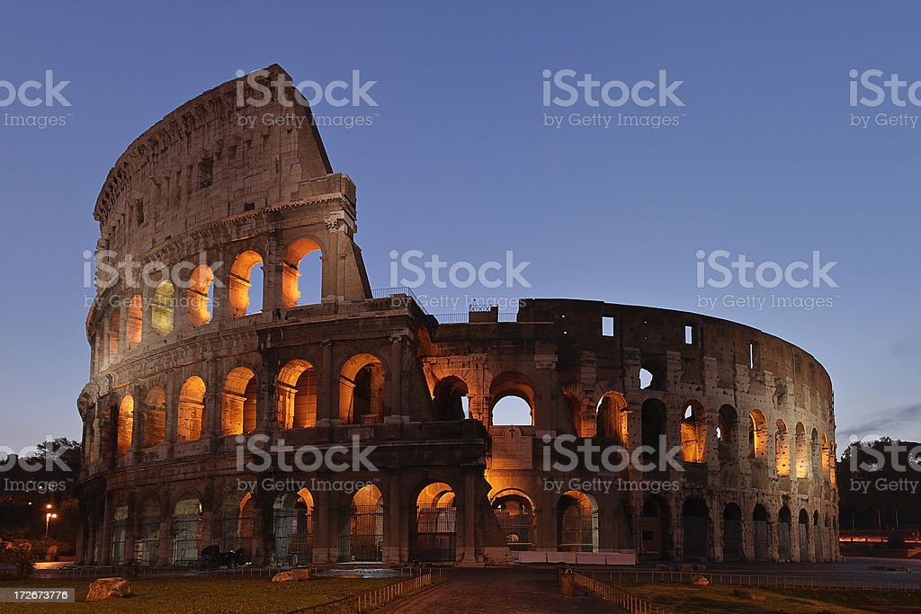 The Coliseum royalty-free stock photo