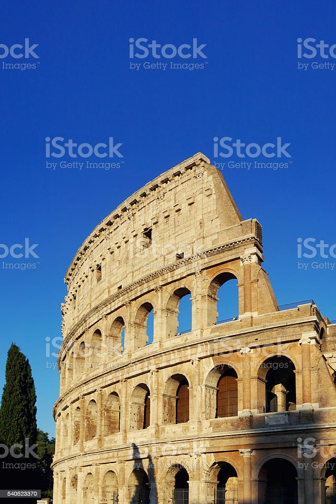 The Colleseum stock photo