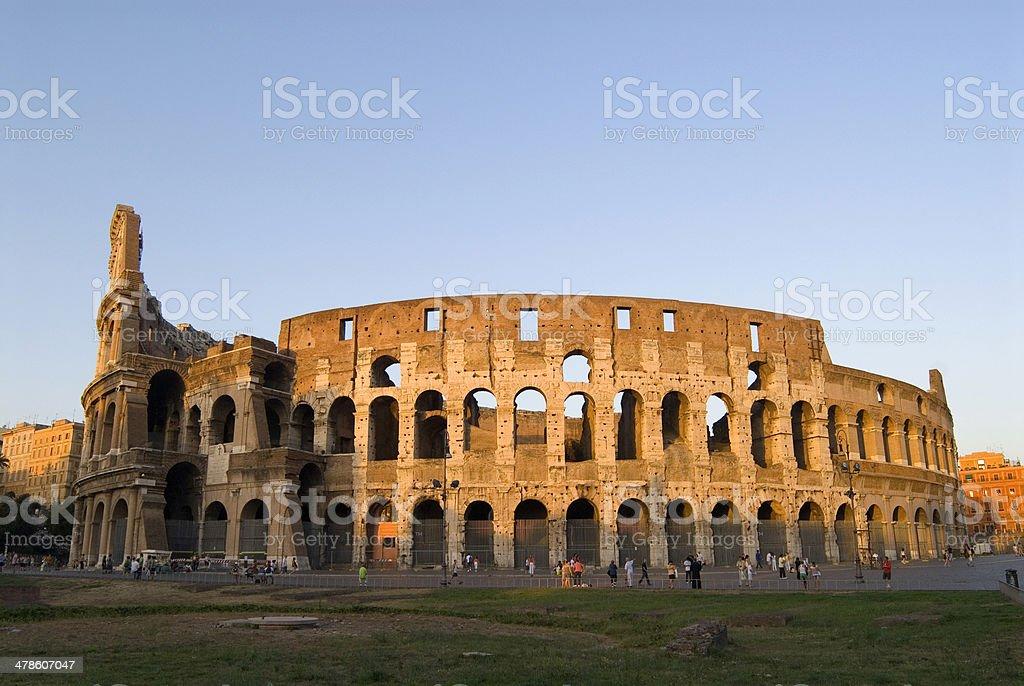 The Collosseum Rome. royalty-free stock photo