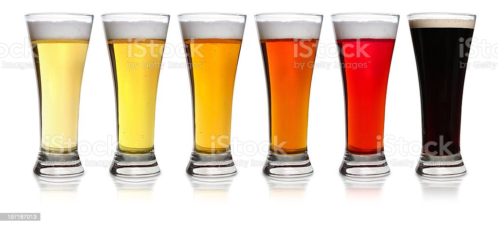 The Color Of Beer royalty-free stock photo