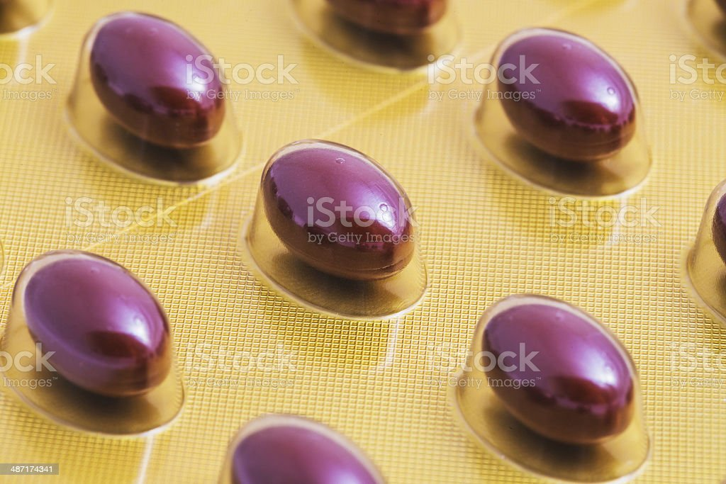 the color pill stock photo