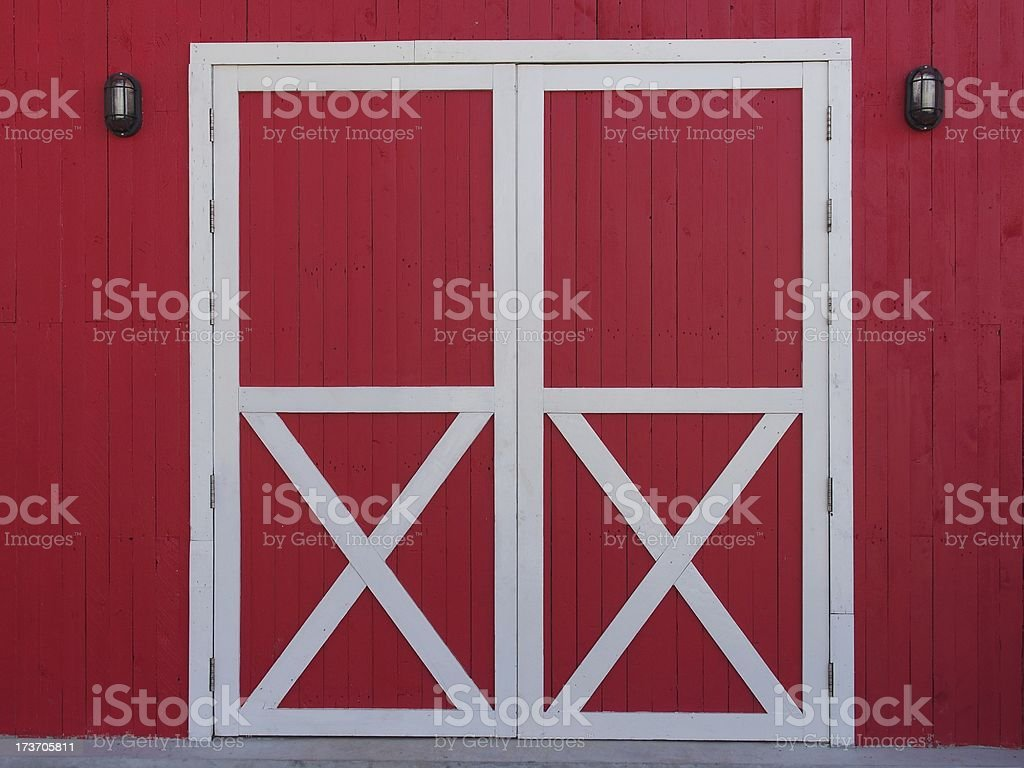 The Color Wood Door royalty-free stock photo