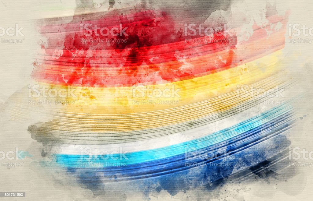 The colored paper stock photo