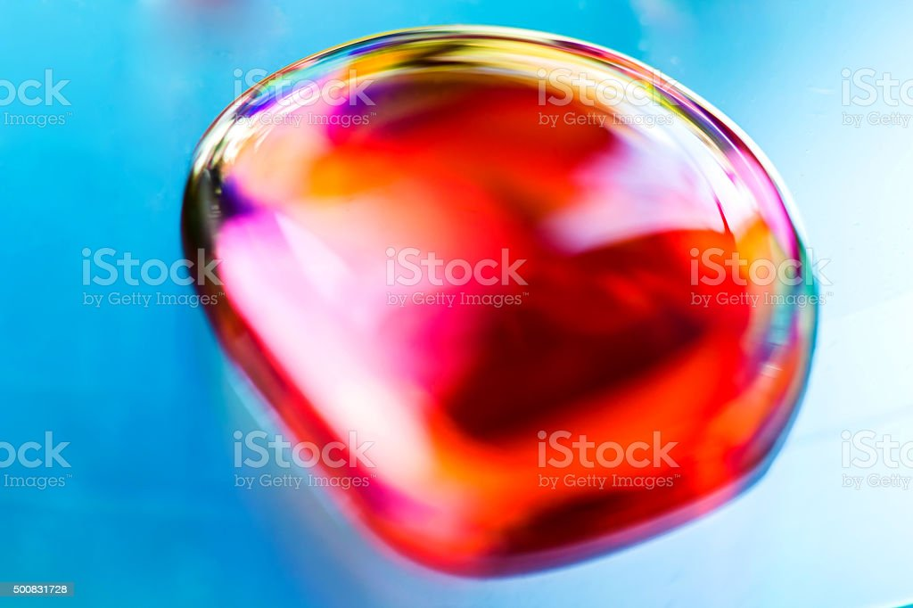 The colorful abstract closeup color droplets. royalty-free stock photo