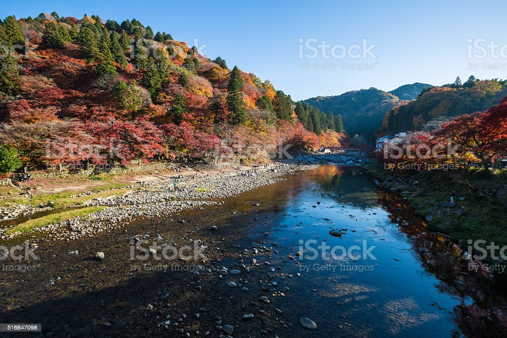 The Colorful Mountain stock photo