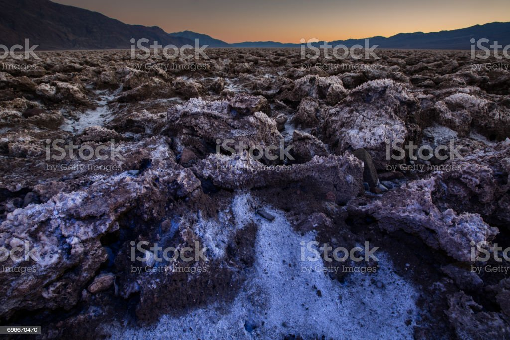 The Colors of Death Valley 2015 stock photo
