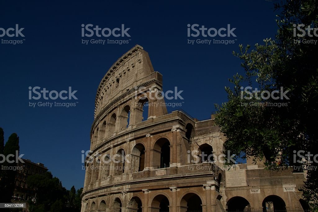 The Colosseum - Rome, Italy stock photo