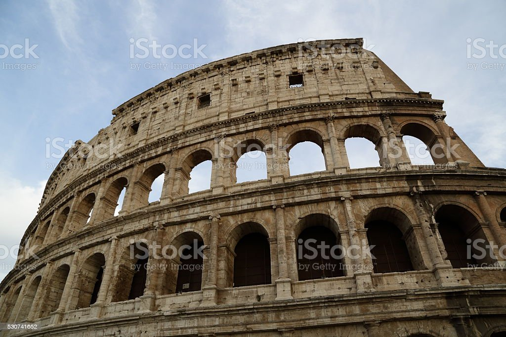The Colosseum - Rome (Italy) stock photo