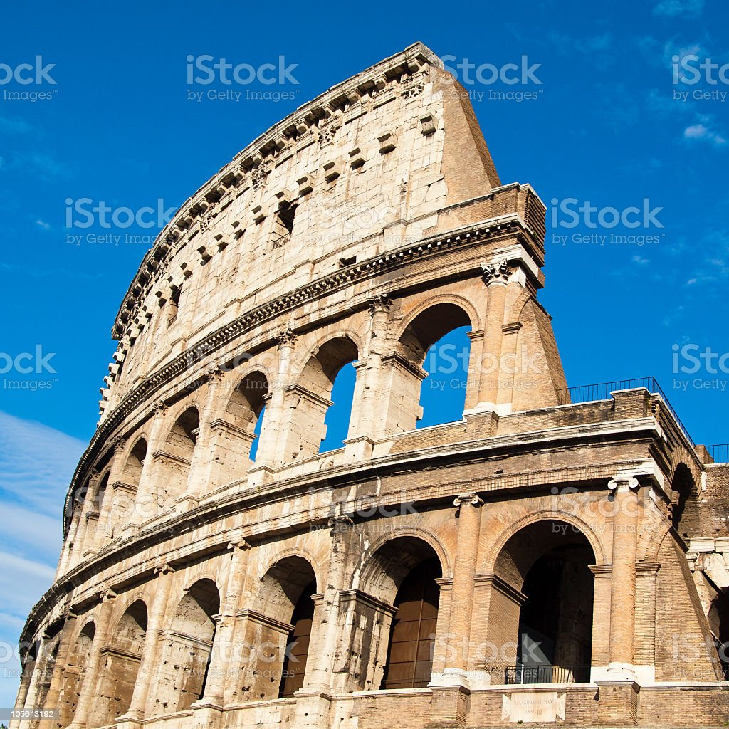 The Colosseum,Rome royalty-free stock photo