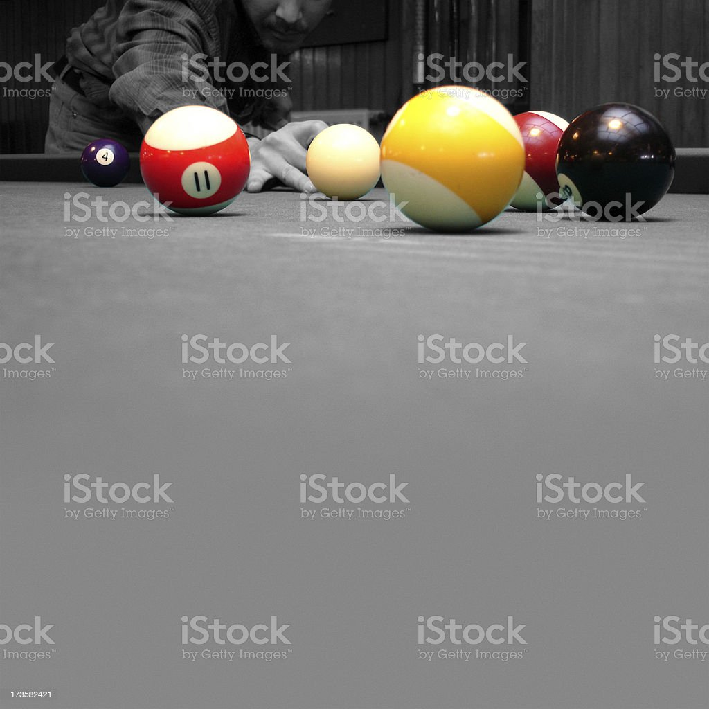 The Colour of Pool royalty-free stock photo