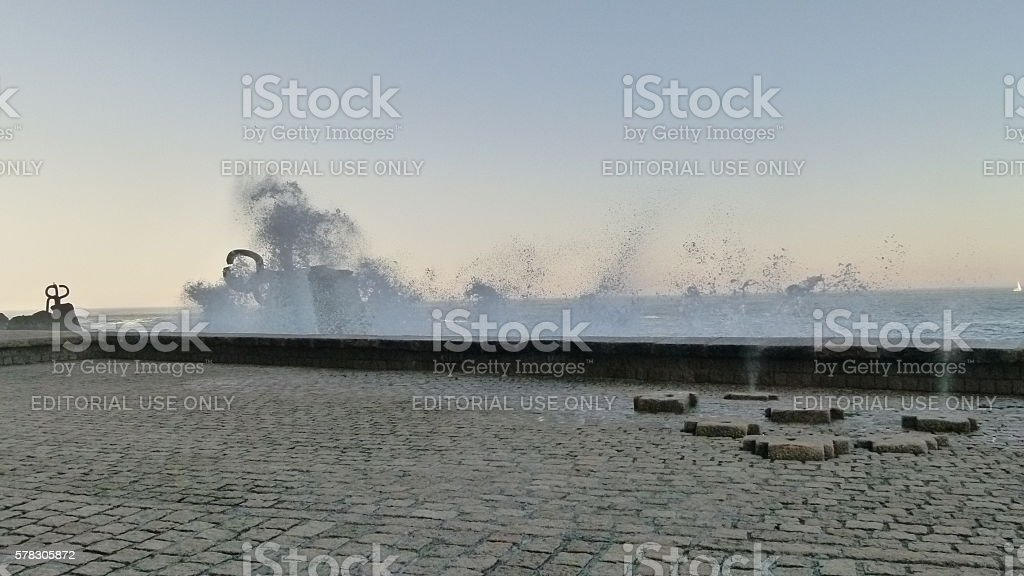 The Comb of the Wind stock photo