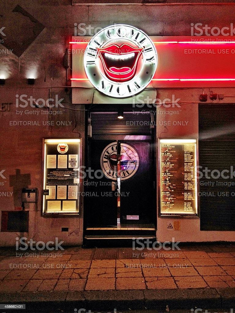 'The Comedy Store, London, UK' stock photo