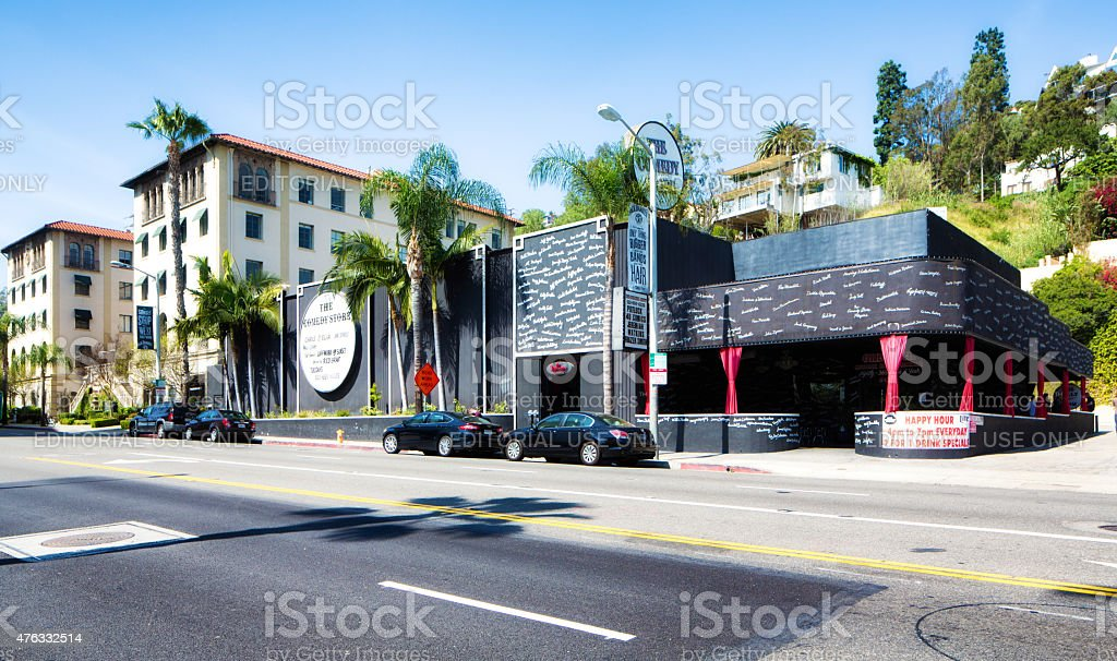 The Comedy Store on Sunset strip West Hollywood Los Angeles stock photo