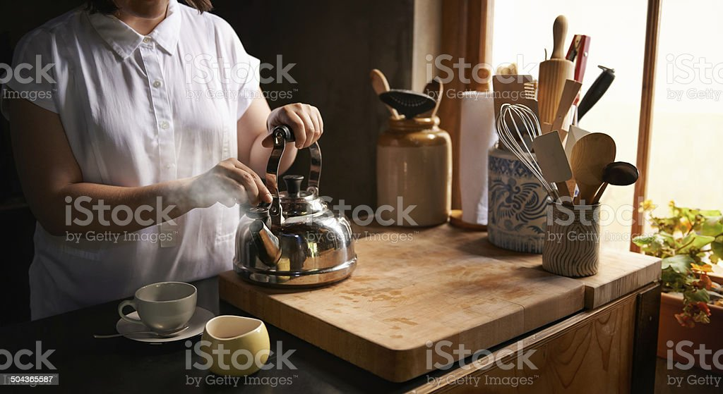 The comforts of home stock photo