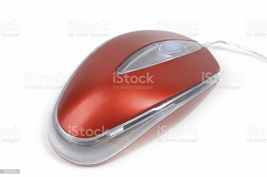 The computer mouse royalty-free stock photo
