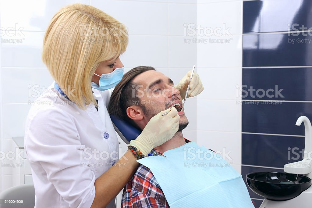 The concept of healthy teeth. royalty-free stock photo