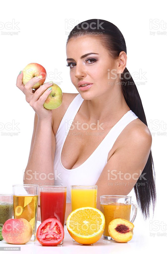 The concept of healthy way of eating. royalty-free stock photo