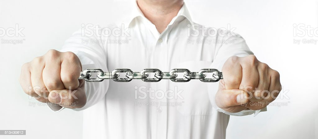 The concept of Power stock photo