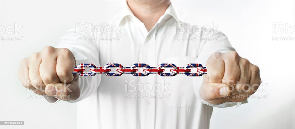 The concept of Powerful United Kingdom stock photo