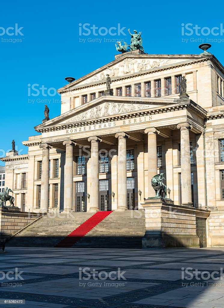 The concert hall in Berlin, Germany stock photo