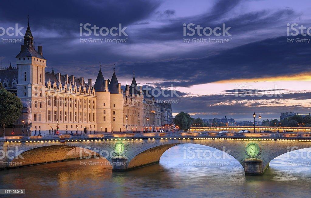 The Conciergerie. stock photo