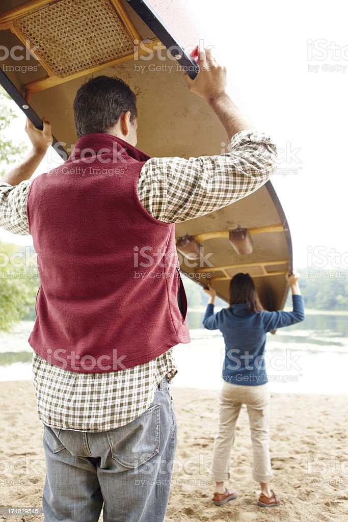 The conditions are perfect for a paddle! royalty-free stock photo