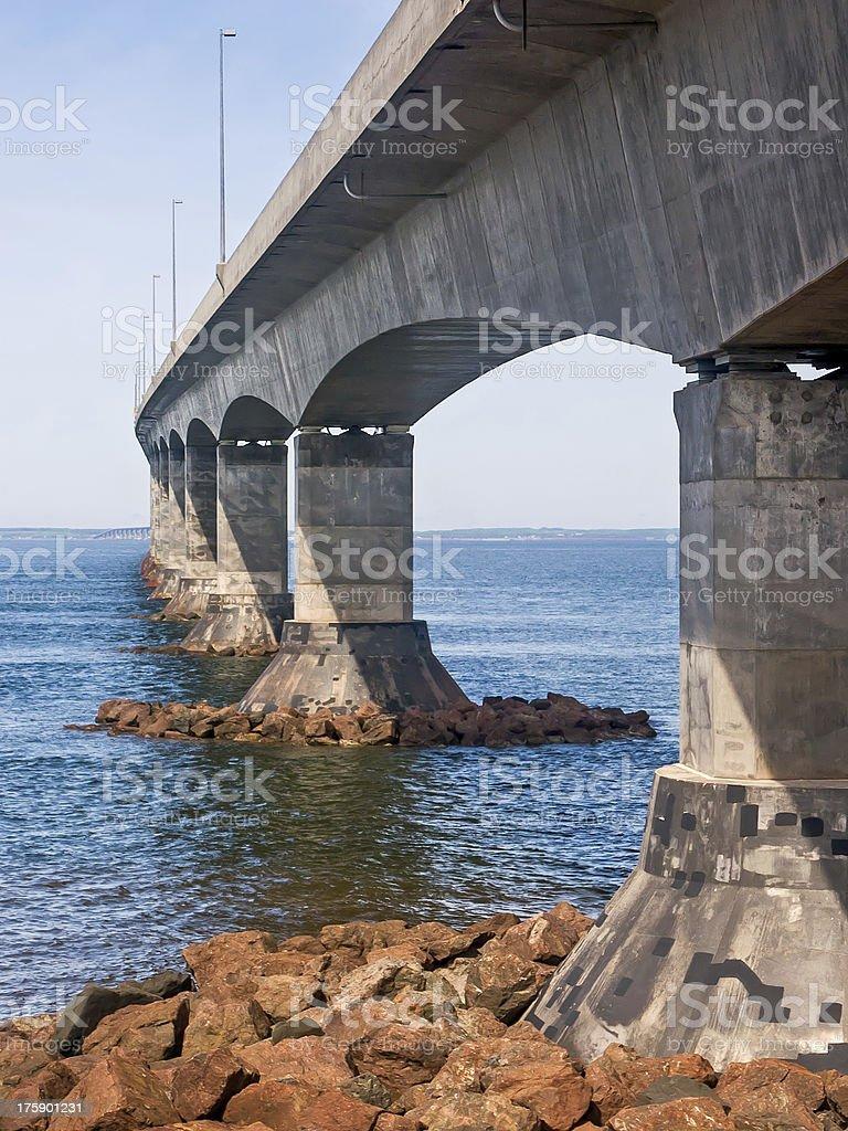 Il Ponte di confederazione foto stock royalty-free
