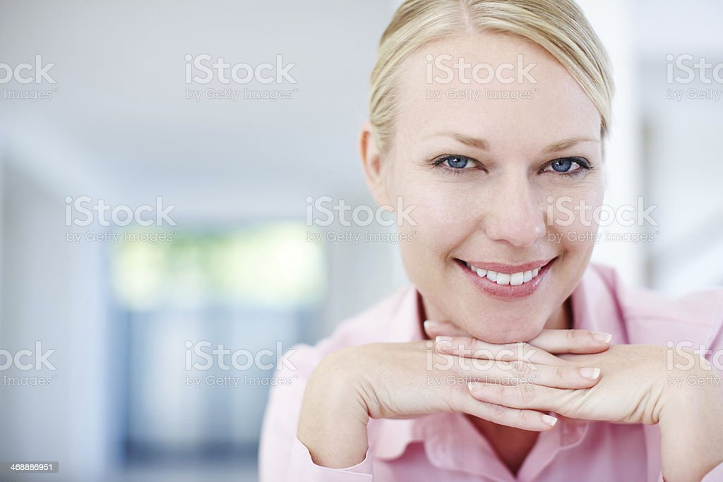 The confidence of an entrepreneur royalty-free stock photo