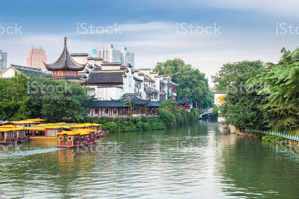 the confucius temple in afternoon stock photo