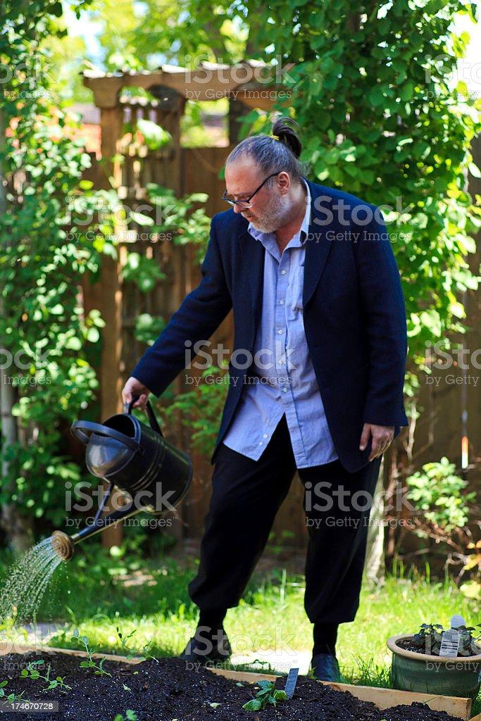 the constant gardener stock photo