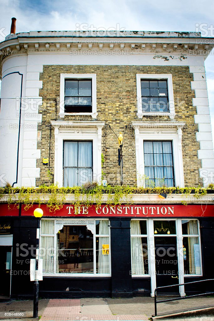 The Constitution pub in Camden stock photo