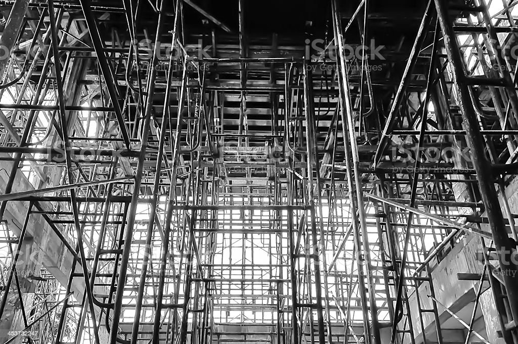 The construction site. royalty-free stock photo