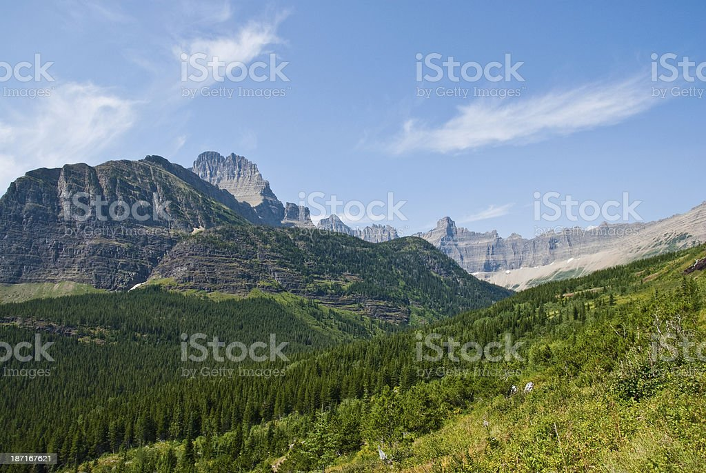 The Continental Divide royalty-free stock photo