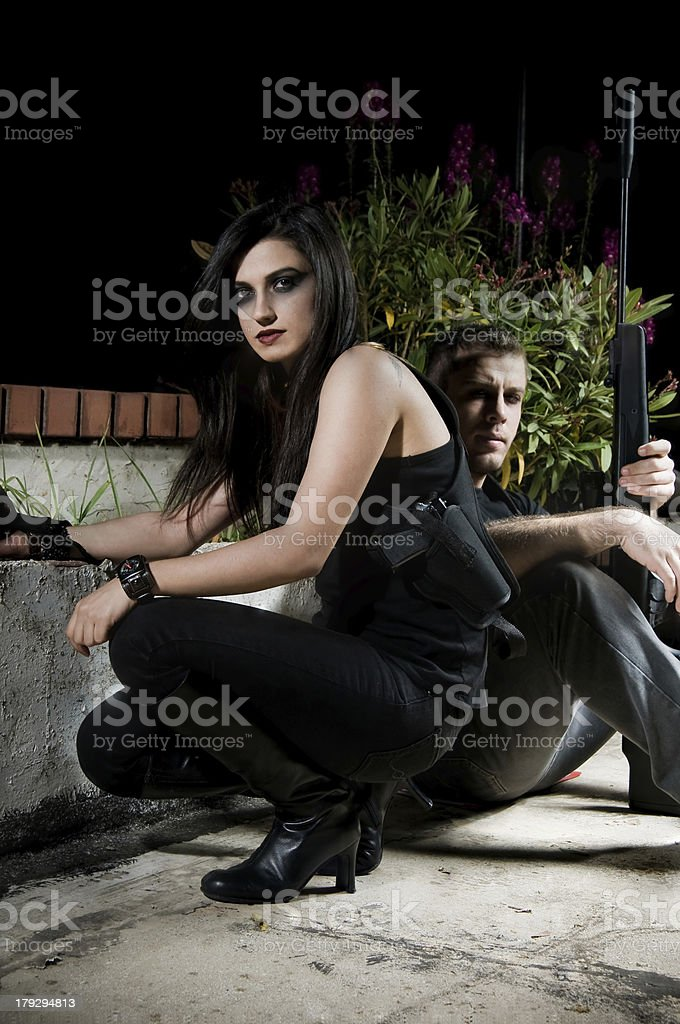 The Contract Killers stock photo