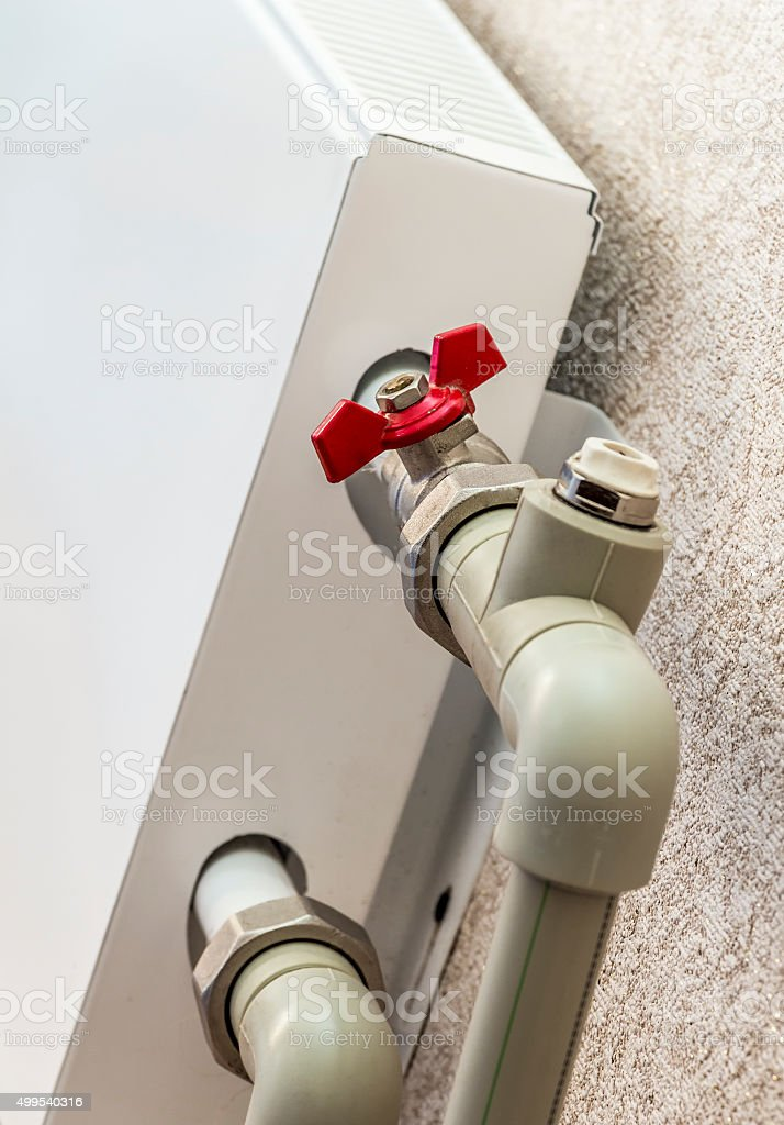 The convector heating stock photo