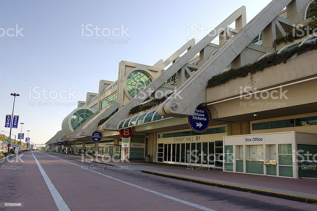 The Convention Center stock photo